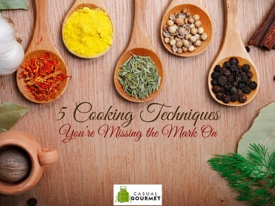 learning cooking techniques
