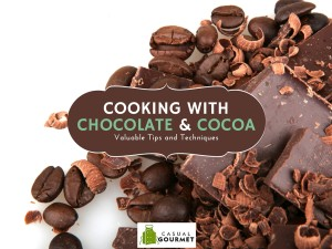 cooking with chocolate and cocoa