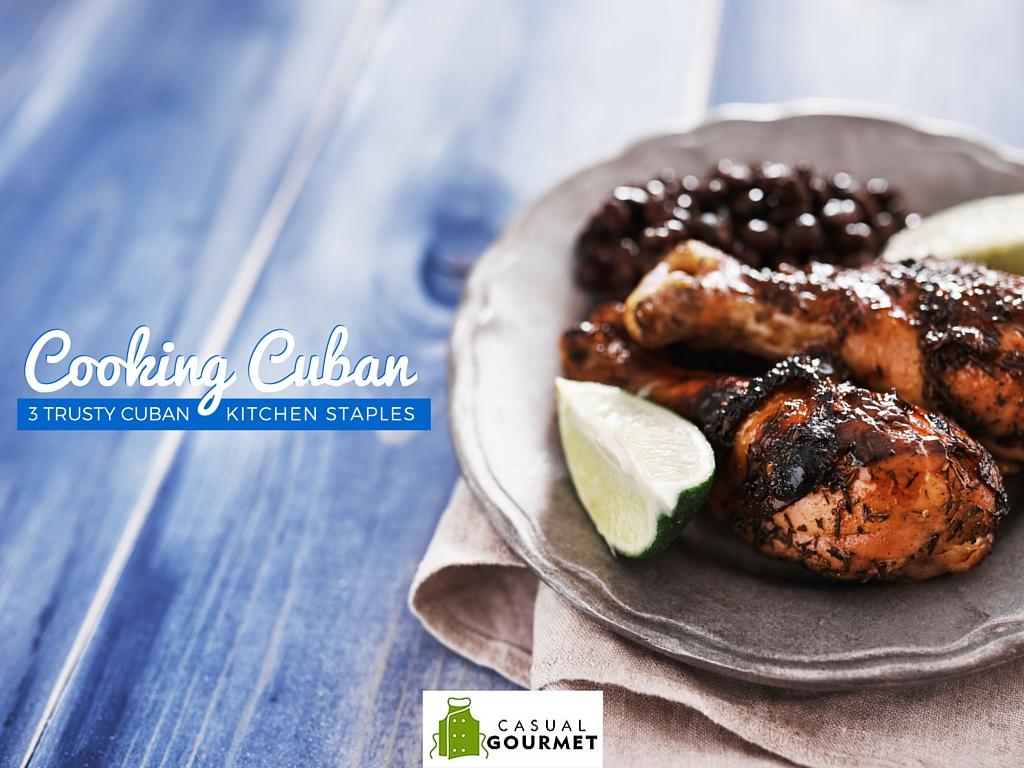 cooking cuban kitchen staples